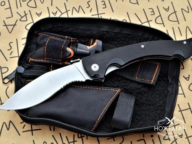 Нож выживания Cold Steel Rajah 2