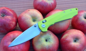 Нож Y-START JIN04 fruit green