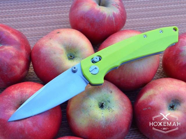 Нож Y-START JIN04 fruit green