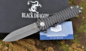Нож Y-START Black Dragon