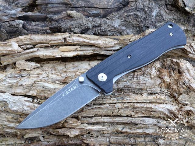 Нож Y-START HZ04 all black