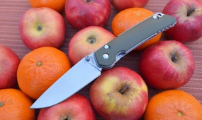 Нож Y-START JIN01 green