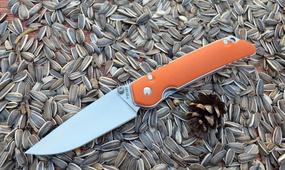 Нож Y-START JIN01 orange