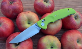 Нож Y-START JIN02 fruit green