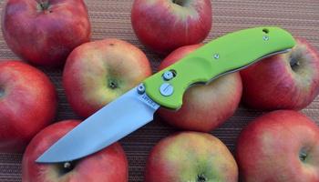 Нож Y-START JIN02 fruit green