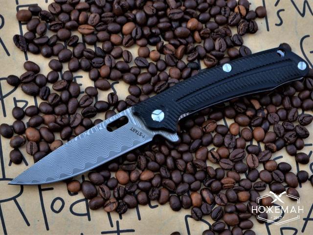 Нож Y-Start LK5013 damaskus
