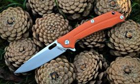 Нож Y-Start LK5013 orange