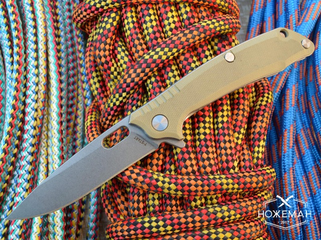 Нож Y-START T03F desert