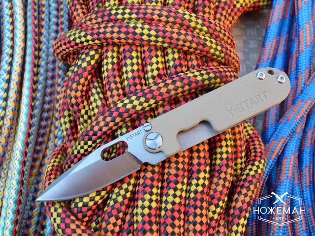 Нож Y-START LK5009 desert