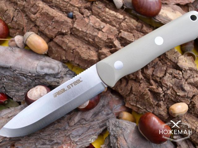 Охотничий нож Real Steel Bushcraft 3
