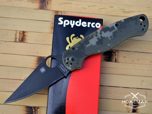 Реплика Spyderco Paramilitary 2 C81