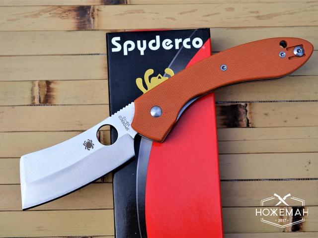 Реплика Spyderco Roc Cleaver C177
