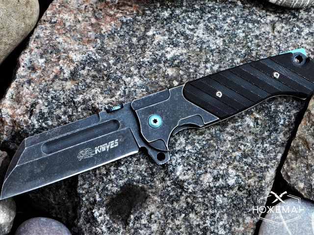 Реплика Andre de Villiers Custom Butcher V2 Flipper