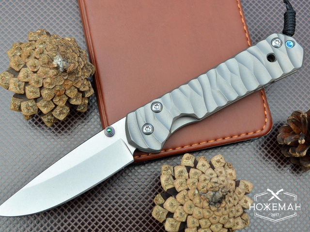 Нож Chris Reeve Small Sebenza 21 Satin Wave Handle