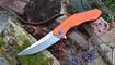 Реплика нож МБШ Получеткий orange