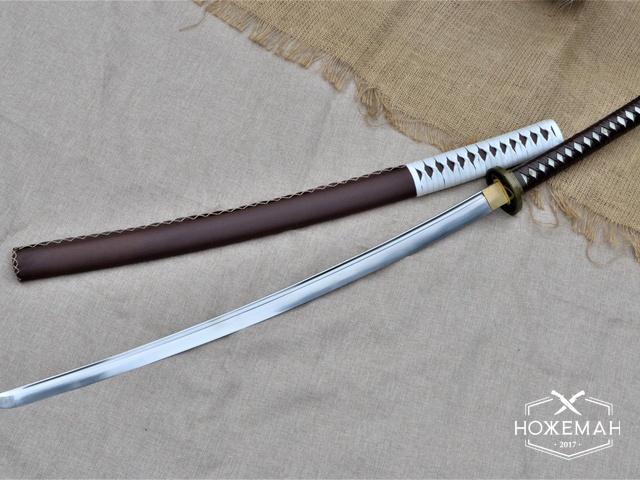 Самурайский меч катана из стали T10