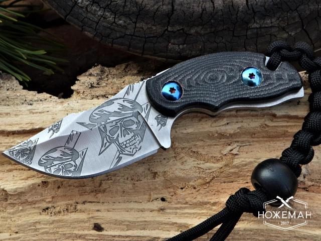 Шейный нож CRKT Ikoma Civet реплика