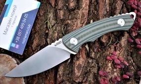 Шкуросъемный нож Kubey KU249B