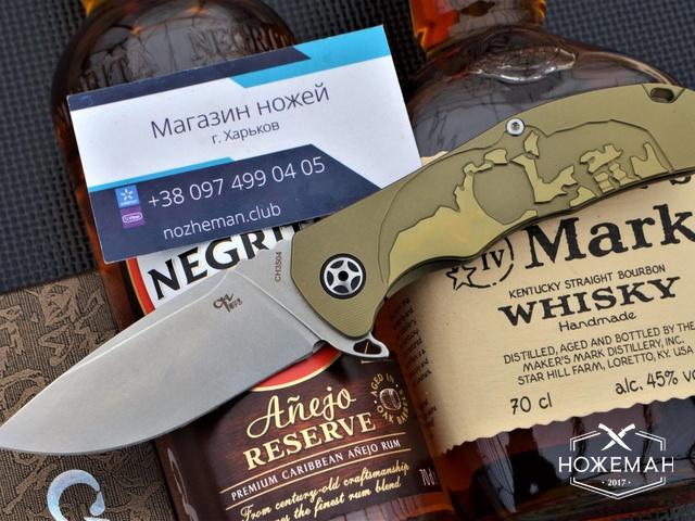 Складной нож CH Outdoor CH3504 Premium