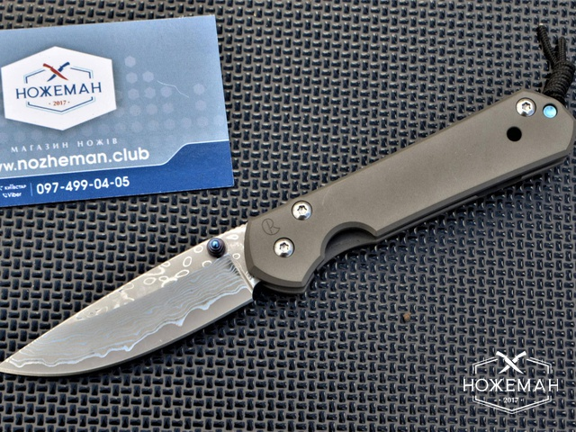 Складной нож Chris Reeve Small Sebenza 21 Damascus
