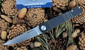 Складной нож RealSteel Ippon Carbon fiber