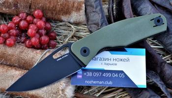 Складной нож RealSteel Terra Olive Green