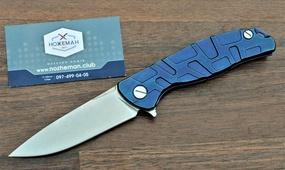 Складной нож Широгоров Флиппер 95 узор Т