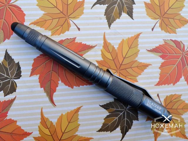 Тактическая ручка со стилусом Laix B006.2