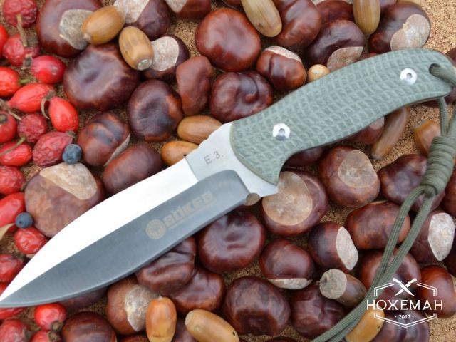 Тактический нож Boker E.3. Rattlesnake