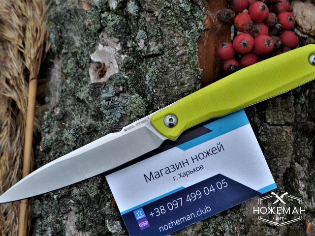 Туристический нож RealSteel Metamorph Fixed Fruit Green