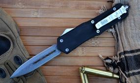Выкидной фронтальный нож Microtech