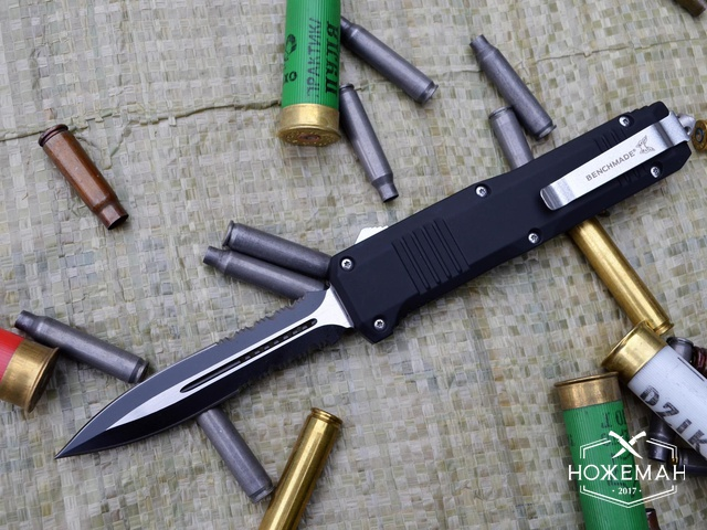 Выкидной нож Benchmade Turmoil black