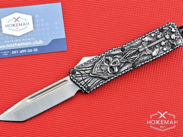 Выкидной нож Bone Collector