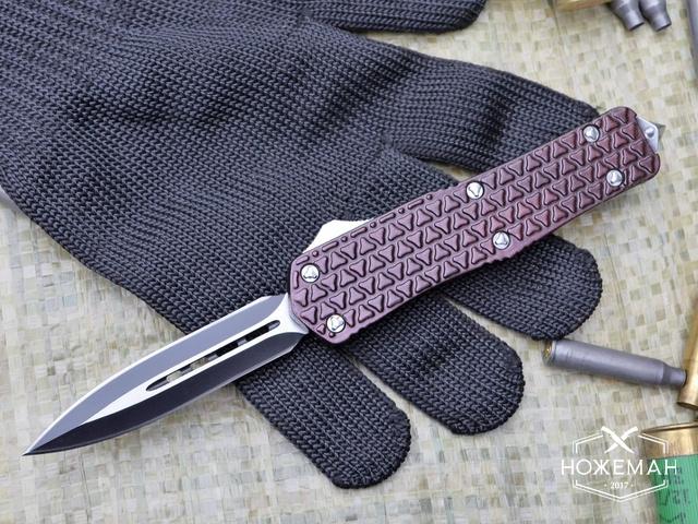 Выкидной нож Microtech Combat Troodon OTF red