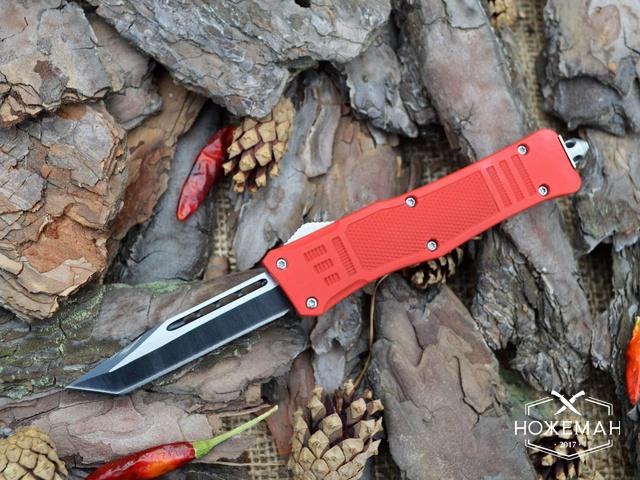 Выкидной нож Microtech Troodon tanto red