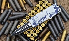 Выкидной нож Microtech mini